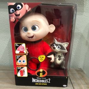 New Disney Pixar Incredibles 2 Jack-Jack Attacks